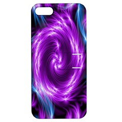 Colors Light Blue Purple Hole Space Galaxy Apple Iphone 5 Hardshell Case With Stand by Alisyart