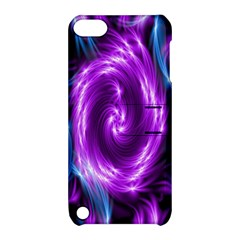 Colors Light Blue Purple Hole Space Galaxy Apple Ipod Touch 5 Hardshell Case With Stand by Alisyart