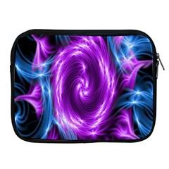 Colors Light Blue Purple Hole Space Galaxy Apple Ipad 2/3/4 Zipper Cases by Alisyart