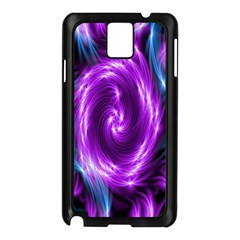Colors Light Blue Purple Hole Space Galaxy Samsung Galaxy Note 3 N9005 Case (black) by Alisyart