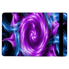 Colors Light Blue Purple Hole Space Galaxy Ipad Air Flip by Alisyart