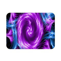 Colors Light Blue Purple Hole Space Galaxy Double Sided Flano Blanket (mini)  by Alisyart