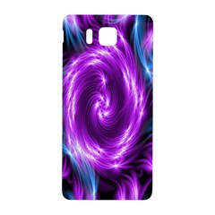 Colors Light Blue Purple Hole Space Galaxy Samsung Galaxy Alpha Hardshell Back Case by Alisyart