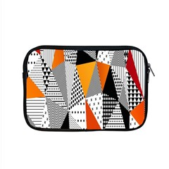Contrast Hero Triangle Plaid Circle Wave Chevron Orange White Black Line Apple Macbook Pro 15  Zipper Case by Alisyart