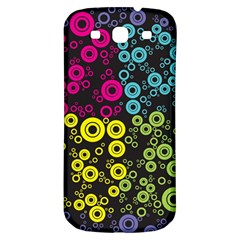 Circle Ring Color Purple Pink Yellow Blue Samsung Galaxy S3 S Iii Classic Hardshell Back Case by Alisyart