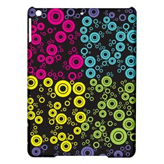 Circle Ring Color Purple Pink Yellow Blue Ipad Air Hardshell Cases by Alisyart