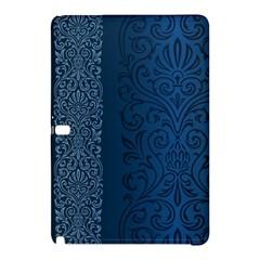 Fabric Blue Batik Samsung Galaxy Tab Pro 12 2 Hardshell Case by Alisyart