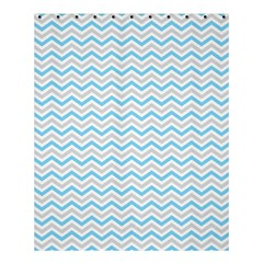 Free Plushie Wave Chevron Blue Grey Gray Shower Curtain 60  X 72  (medium)  by Alisyart