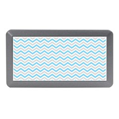 Free Plushie Wave Chevron Blue Grey Gray Memory Card Reader (mini) by Alisyart