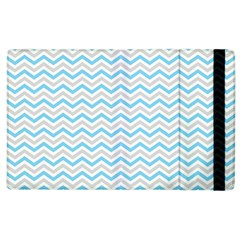 Free Plushie Wave Chevron Blue Grey Gray Apple Ipad 3/4 Flip Case by Alisyart