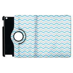 Free Plushie Wave Chevron Blue Grey Gray Apple Ipad 2 Flip 360 Case by Alisyart