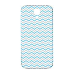 Free Plushie Wave Chevron Blue Grey Gray Samsung Galaxy S4 I9500/i9505  Hardshell Back Case by Alisyart