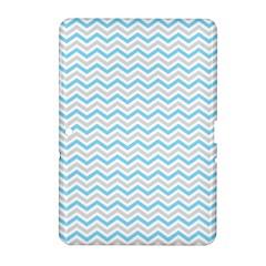 Free Plushie Wave Chevron Blue Grey Gray Samsung Galaxy Tab 2 (10 1 ) P5100 Hardshell Case  by Alisyart