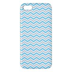 Free Plushie Wave Chevron Blue Grey Gray Iphone 5s/ Se Premium Hardshell Case by Alisyart