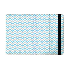 Free Plushie Wave Chevron Blue Grey Gray Ipad Mini 2 Flip Cases by Alisyart
