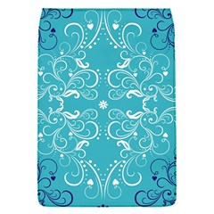 Flower Leaf Floral Love Heart Sunflower Rose Blue White Flap Covers (s)  by Alisyart