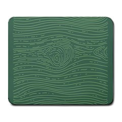 Illustration Green Grains Line Large Mousepads by Alisyart