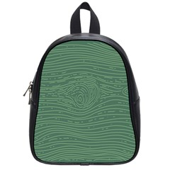 Illustration Green Grains Line School Bags (small)  by Alisyart