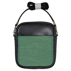 Illustration Green Grains Line Girls Sling Bags by Alisyart