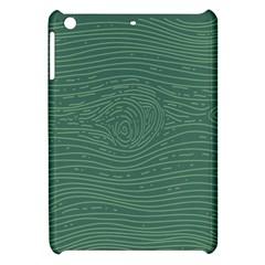 Illustration Green Grains Line Apple Ipad Mini Hardshell Case by Alisyart
