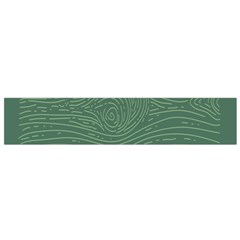 Illustration Green Grains Line Flano Scarf (small) by Alisyart