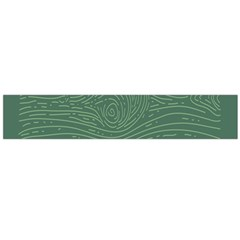 Illustration Green Grains Line Flano Scarf (large) by Alisyart