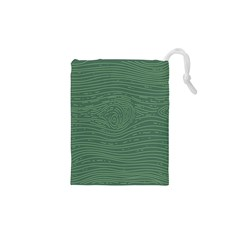 Illustration Green Grains Line Drawstring Pouches (xs)  by Alisyart