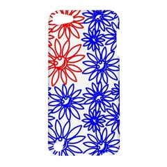 Flower Floral Smile Face Red Blue Sunflower Apple Ipod Touch 5 Hardshell Case by Alisyart