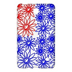 Flower Floral Smile Face Red Blue Sunflower Samsung Galaxy Tab 4 (8 ) Hardshell Case  by Alisyart