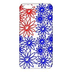Flower Floral Smile Face Red Blue Sunflower Iphone 6 Plus/6s Plus Tpu Case by Alisyart