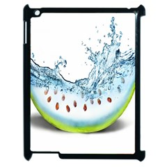 Fruit Water Slice Watermelon Apple Ipad 2 Case (black) by Alisyart