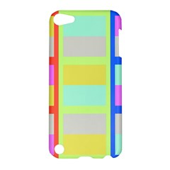 Maximum Color Rainbow Red Blue Yellow Grey Pink Plaid Flag Apple Ipod Touch 5 Hardshell Case by Alisyart