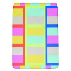 Maximum Color Rainbow Red Blue Yellow Grey Pink Plaid Flag Flap Covers (l)  by Alisyart