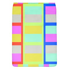 Maximum Color Rainbow Red Blue Yellow Grey Pink Plaid Flag Flap Covers (s)  by Alisyart