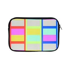 Maximum Color Rainbow Red Blue Yellow Grey Pink Plaid Flag Apple Ipad Mini Zipper Cases by Alisyart