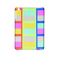 Maximum Color Rainbow Red Blue Yellow Grey Pink Plaid Flag Ipad Mini 2 Hardshell Cases by Alisyart