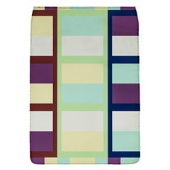 Maximum Color Rainbow Brown Blue Purple Grey Plaid Flag Flap Covers (s)  by Alisyart