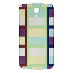 Maximum Color Rainbow Brown Blue Purple Grey Plaid Flag Samsung Galaxy Mega I9200 Hardshell Back Case