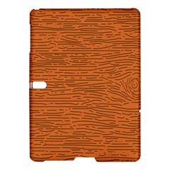 Illustration Orange Grains Line Samsung Galaxy Tab S (10 5 ) Hardshell Case  by Alisyart
