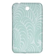 Leaf Blue Samsung Galaxy Tab 3 (7 ) P3200 Hardshell Case  by Alisyart
