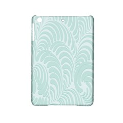 Leaf Blue Ipad Mini 2 Hardshell Cases by Alisyart