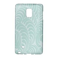 Leaf Blue Galaxy Note Edge by Alisyart