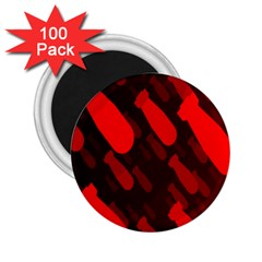 Missile Rockets Red 2 25  Magnets (100 Pack)  by Alisyart
