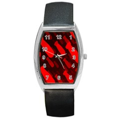 Missile Rockets Red Barrel Style Metal Watch by Alisyart