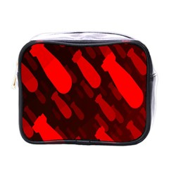 Missile Rockets Red Mini Toiletries Bags by Alisyart