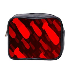 Missile Rockets Red Mini Toiletries Bag 2 Side by Alisyart