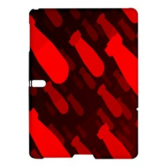 Missile Rockets Red Samsung Galaxy Tab S (10 5 ) Hardshell Case  by Alisyart
