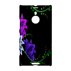 Neon Flowers Floral Rose Light Green Purple White Pink Sexy Nokia Lumia 1520 by Alisyart