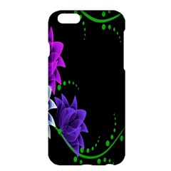Neon Flowers Floral Rose Light Green Purple White Pink Sexy Apple Iphone 6 Plus/6s Plus Hardshell Case by Alisyart