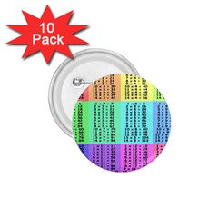 Multiplication Printable Table Color Rainbow 1 75  Buttons (10 Pack) by Alisyart